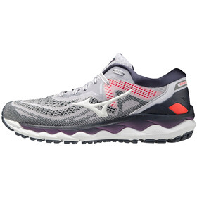 Mizuno Wave Sky 4 Shoes Women, lila hint/platinum gold/india ink